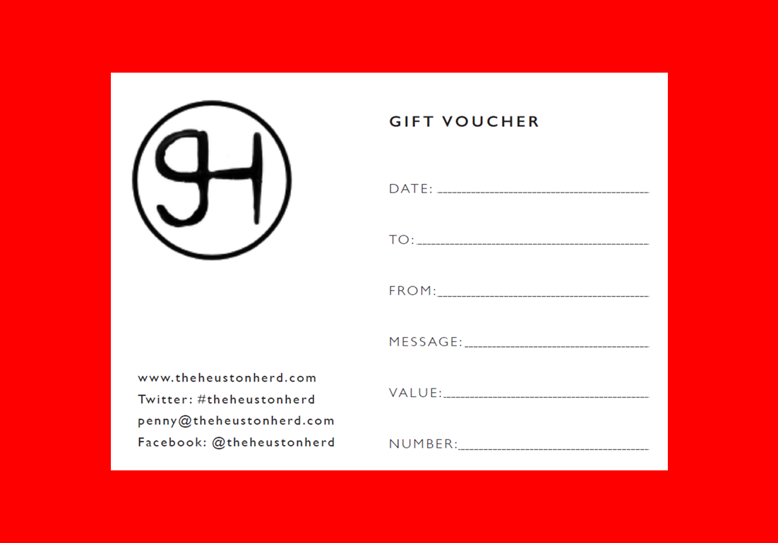 The Heuston Herd Gift Card: