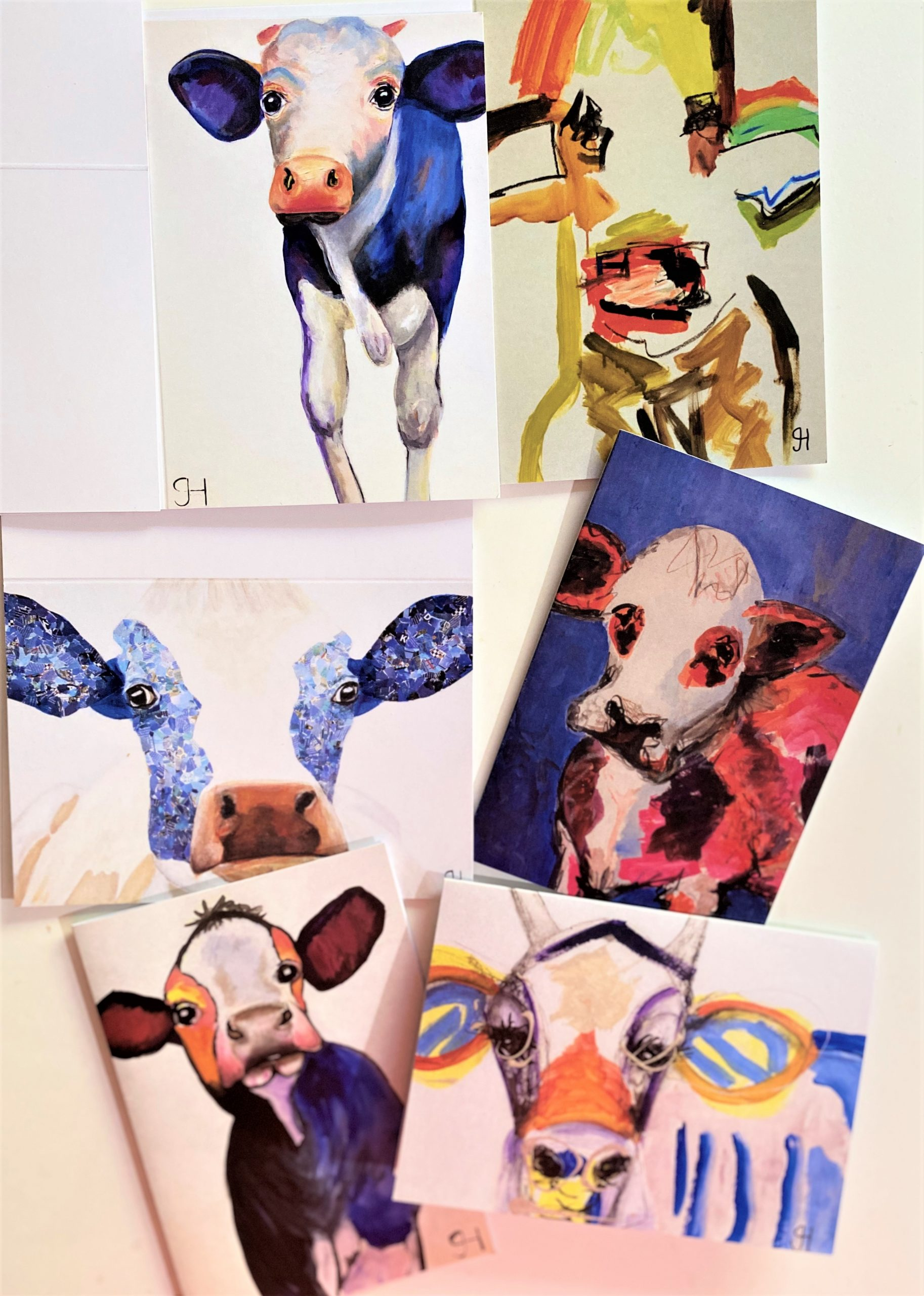 The Crazy Cow Card Collection.